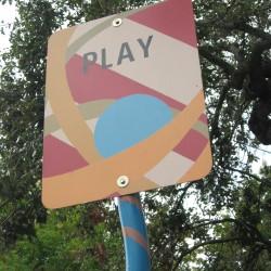Play Art Sign