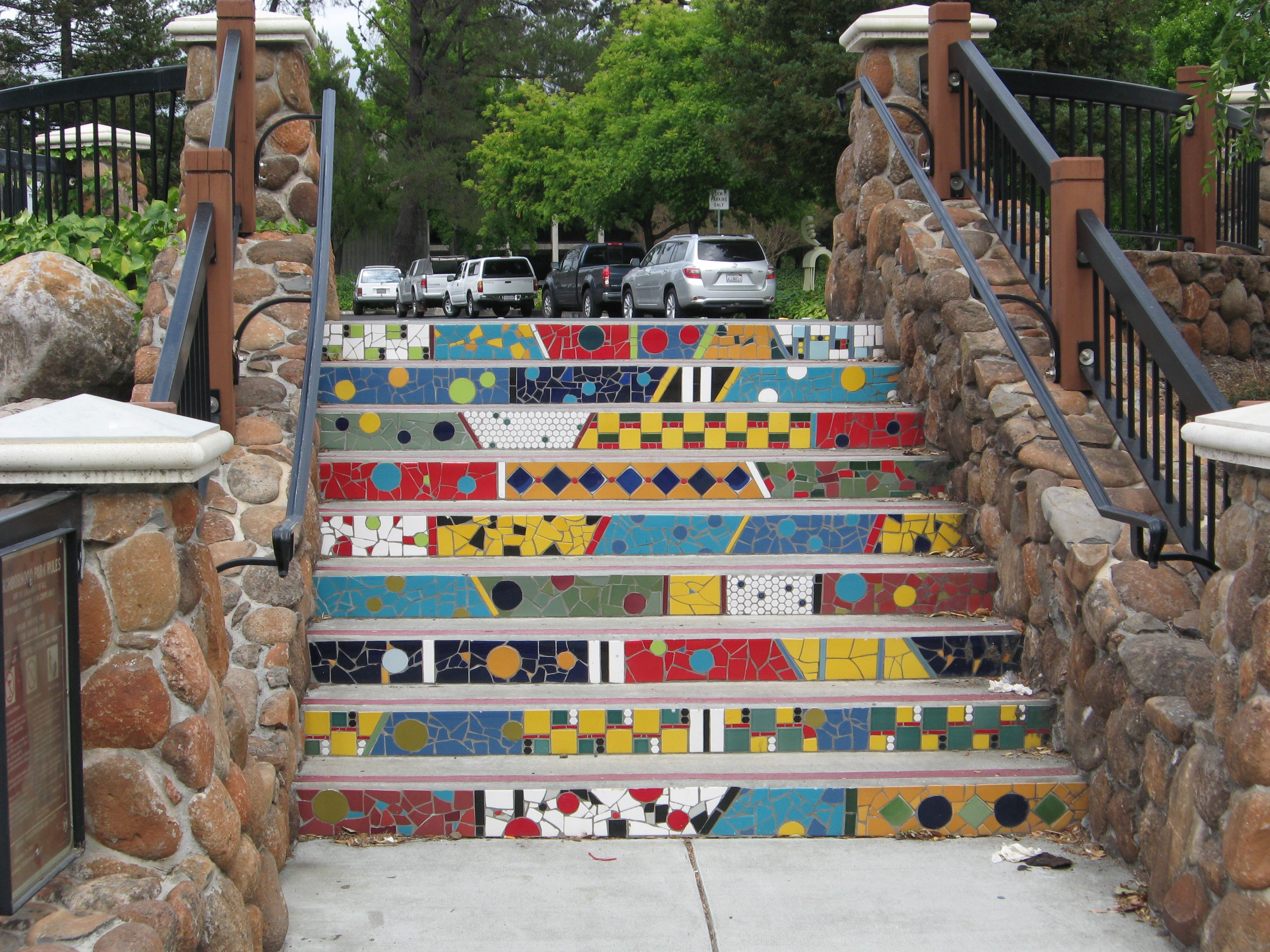 Abstract Mosaic Steps