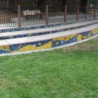 Our Creek Mosaic Risers