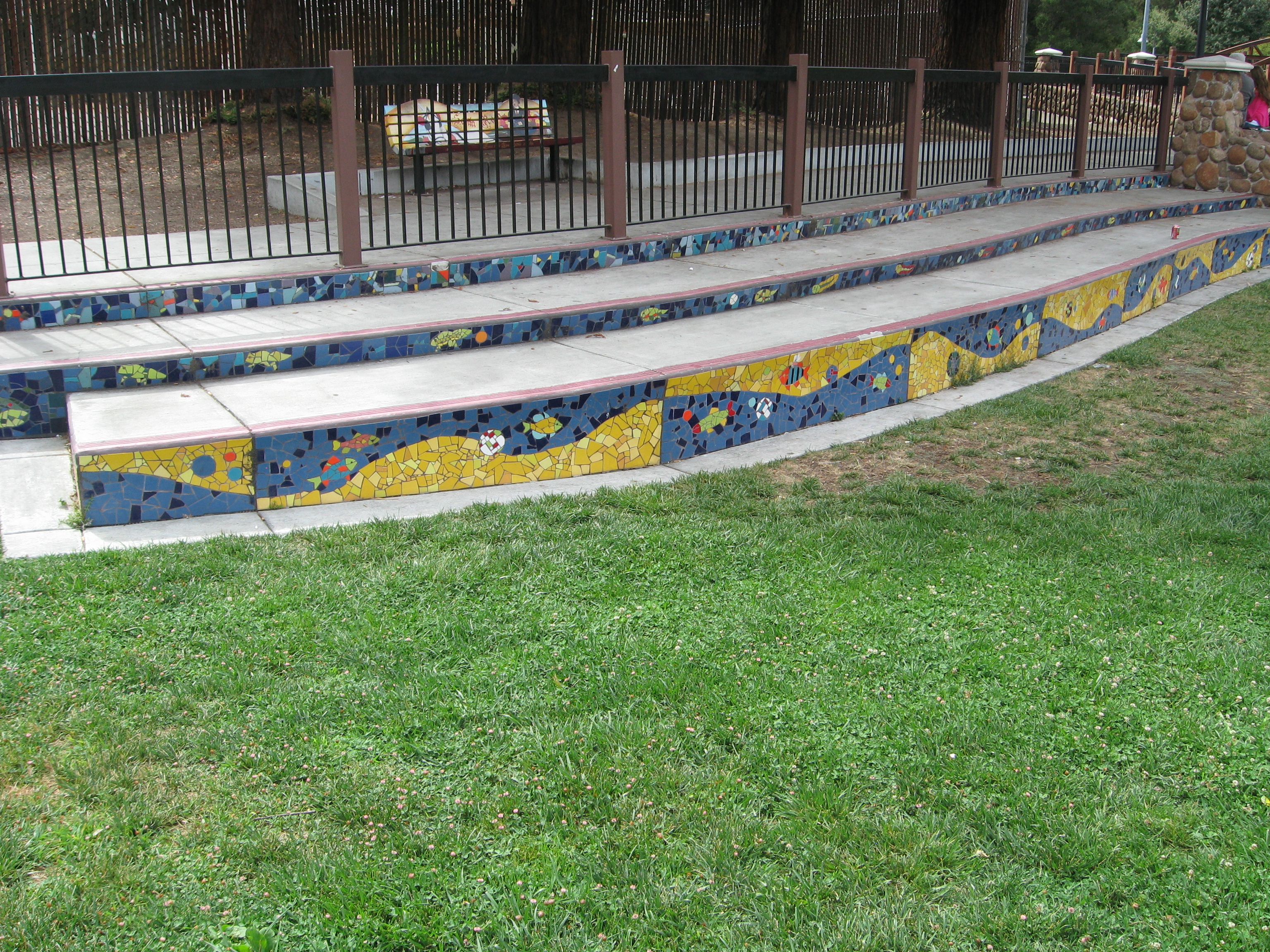 Our Creek Mosaic Risers