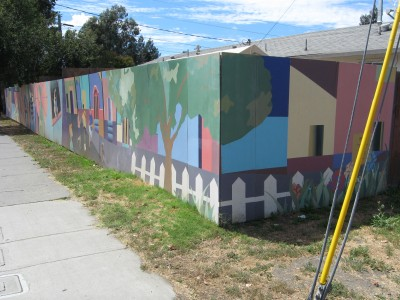 City Scape Mural