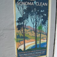 Sonoma County Anti-Dumping Mural