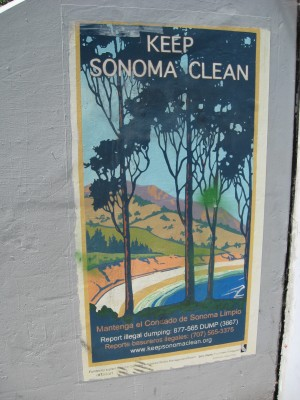 Sonoma County Anti-Dumping Mural