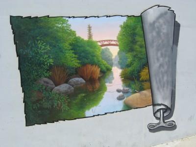 Sonoma Landscape Opening Mural